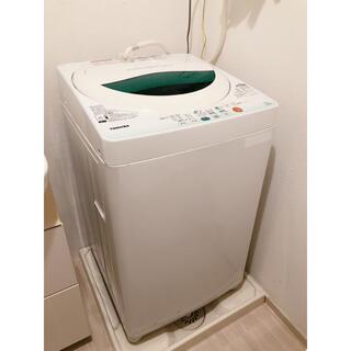 東芝 - 美品 洗濯機 東芝 5kg 乾燥機能付き 槽洗浄機能付き