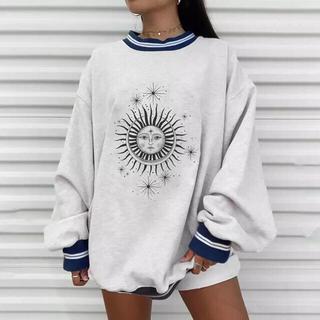 Ameri VINTAGE - sun motif trainer (White)