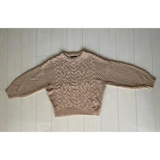 しまむら - ざっくりニットセーター