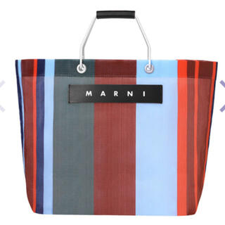 Marni - マルニ ストライプバッグ