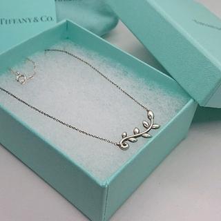Tiffany & Co. - ティファニー SV925 オリーブリーフ ネックレス