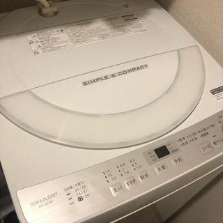 SHARP - SHARP 2018年製 全自動洗濯機(6kg) ES-GE6B