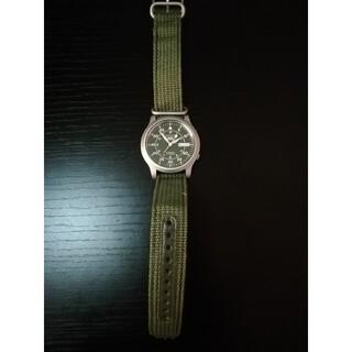 セイコー(SEIKO)のセイコー5 SEIKO5 ミリタリー グリーン(腕時計(アナログ))