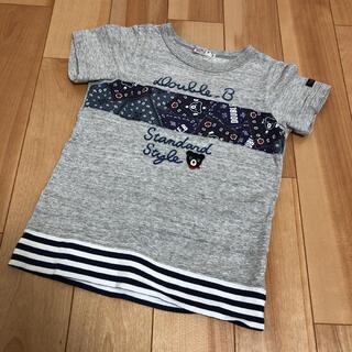 DOUBLE.B - ダブルビー 半袖Tシャツ