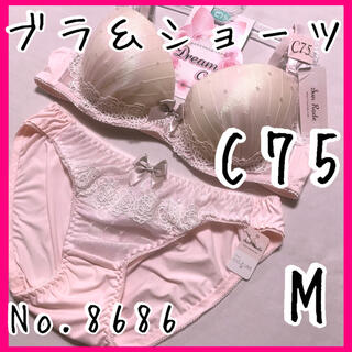 ブラ&ショーツセットC75        No.8686