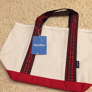 familiar - 【タグ付き】ファミリア キャンバス トートバッグ