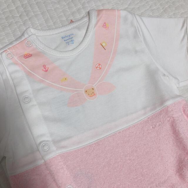 familiar(ファミリア)のfamiliar ロンパース キッズ/ベビー/マタニティのベビー服(~85cm)(ロンパース)の商品写真