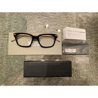 トムブラウン(THOM BROWNE)のTHOM BROWNE トムブラウン メガネTB-701-A BLK-GLD(サングラス/メガネ)