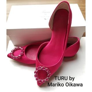 ツルバイマリコオイカワ(TSURU by Mariko Oikawa)のTURU by Mariko Oikawa(ツルバイマリコオイカワ)パンプス(ハイヒール/パンプス)