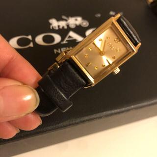 ete - ete エテ レディース 腕時計 レザーバンド ネイビー ゴールド ダイヤモンド