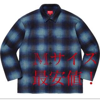 Supreme Shadow Plaid Fleece Shirt M フリース