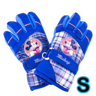 ディズニー(Disney)の再入荷! ミッキー  手袋 S キッズ 子供 男の子 防水 スキー スケート(手袋)