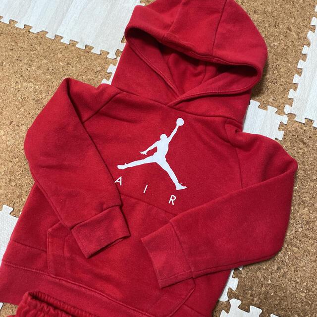 NIKE(ナイキ)のNIKE ジョーダン セットアップ キッズ/ベビー/マタニティのキッズ服男の子用(90cm~)(Tシャツ/カットソー)の商品写真
