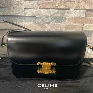 celine - セリーヌショルダーバッグ ブラック トリオンフ100%正規品