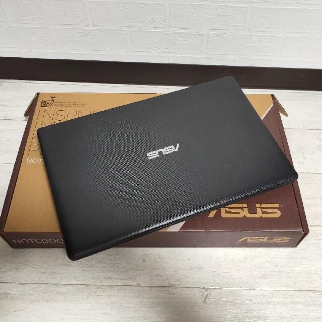 ASUS(エイスース)のasus ノートPC X551CA-1007s【動作確認済み】 スマホ/家電/カメラのPC/タブレット(ノートPC)の商品写真