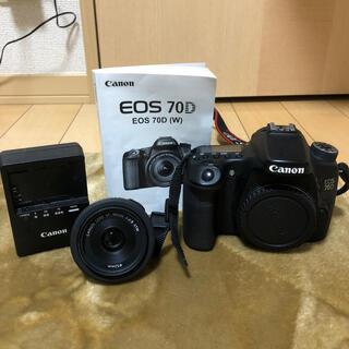 Canon - Canon eos70D +40mmレンズ