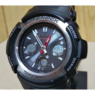 G-SHOCK - CASIO G-SHOCK AWG-M100 電波 ソーラー アナデジ 腕時計