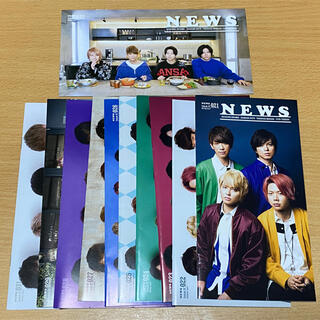 ニュース(NEWS)の【即購入OK】NEWS 会報セット(アイドルグッズ)