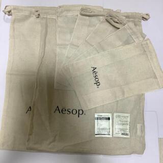 イソップ(Aesop)の巾着(ショップ袋)