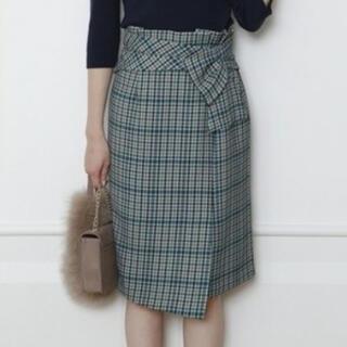 JUSGLITTY - JUSGLITTY  デザインチェックタイトスカート