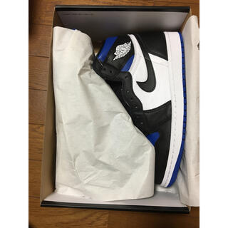 NIKE - NIKE AIR JORDAN 1 OG ROYAL TOE 27.5 ナイキ