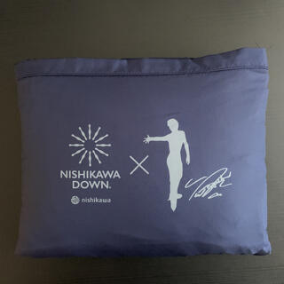 ニシカワ(西川)の西川羽毛 膝掛け ノベルティ(スポーツ選手)