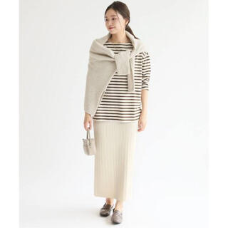 IENA - IENA ウォッシャブルウールコットン ケーブルスカート定価¥14,300税込