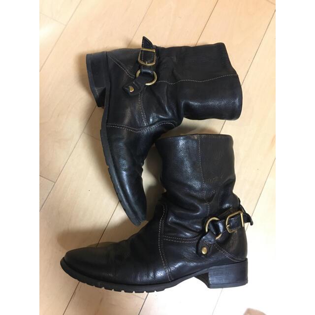 cavacava(サヴァサヴァ)の【最終価格】cavacava ショートブーツ 黒 24.0cm レディースの靴/シューズ(ブーツ)の商品写真