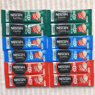 Nestle - ネスカフェ エクセラ スティックコーヒー 12本