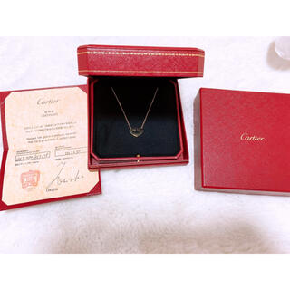 Cartier - カルティエ cハートネックレス