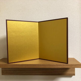 ミニ金屏風(ハンドメイド)2-14