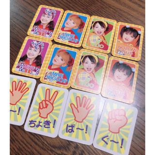 モーニングムスメ(モーニング娘。)のミニモニ カード カードゲーム(アイドルグッズ)