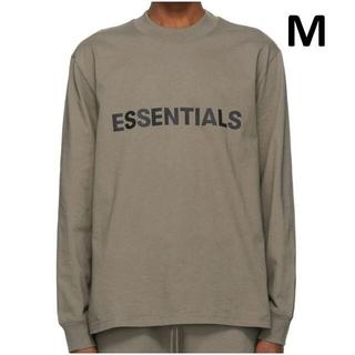 エッセンシャル(Essential)の新作【新品!Mサイズ】 essentials ロンT トープ エッセンシャルズ(Tシャツ/カットソー(七分/長袖))