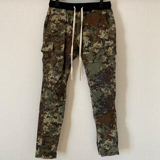 mnml Cargo Drawcord Pants ForestCamo