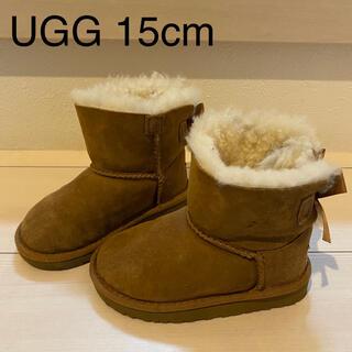 UGG - UGG アグ ムートンブーツ キッズ15cm(14.5) 極美品