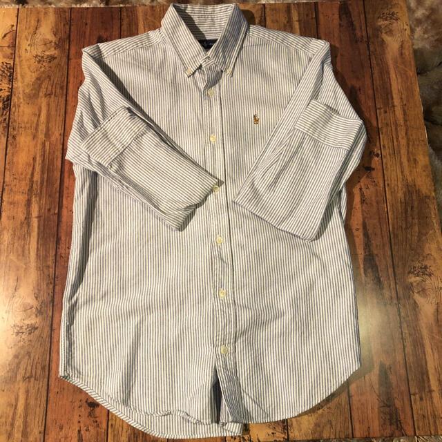 POLO RALPH LAUREN(ポロラルフローレン)のストライプシャツ 美品 ラルフローレン メンズのトップス(シャツ)の商品写真