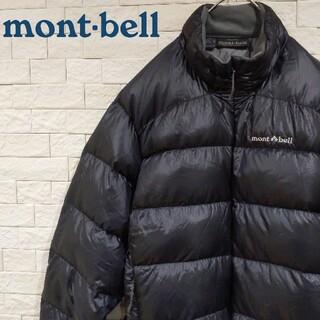 mont bell - モンベル  アルパインダウンジャケット ブラック mont-bell
