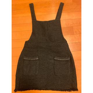 ZARA - ZARA ザラ サロペットスカート  ブラック Sサイズ