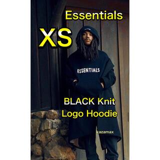 フィアオブゴッド(FEAR OF GOD)のFOG Essentials エッセンシャルズ ニット パーカー ブラック XS(パーカー)