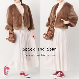 Spick and Span - 美品【スピックアンドスパン】フェイクファーコート