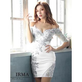 IRMA*ミニドレス white(ナイトドレス)
