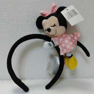 ディズニー(Disney)のねむりカチューシャ ミニーマウス ミニーちゃん カチューシャ(カチューシャ)