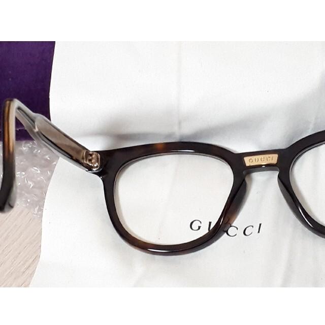 Gucci(グッチ)の美品 グッチ GUCCI メガネ GG0183O フレーム サングラス ケース付 レディースのファッション小物(サングラス/メガネ)の商品写真