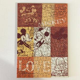 ディズニー(Disney)の【ジグソーパズル】Disney「ミッキー&ミニー」プチパズル(その他)