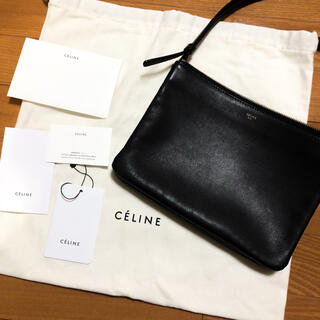celine - 極美品 CELINE トリオ ラージ