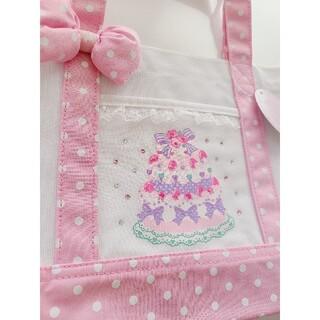 マザウェイズ(motherways)のマザウェイズ女の子トートバッグ未使用ピンク(トートバッグ)