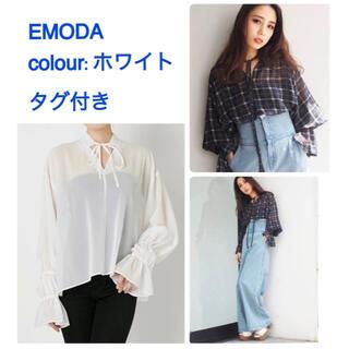 エモダ(EMODA)のタグ付き W パフスキッパートップス エモダ   EMODA(シャツ/ブラウス(長袖/七分))