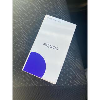 アクオス(AQUOS)のAQUOS sense3 basic ブラック 32GB au(スマートフォン本体)