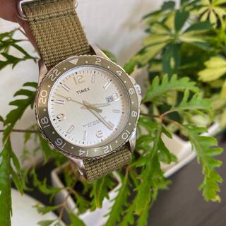 タイメックス(TIMEX)のTIMEX タイメックス 腕時計 オリーブ(腕時計(アナログ))