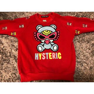 ヒステリックミニ(HYSTERIC MINI)のヒステリックミニ❤️トレーナー 90センチ(Tシャツ/カットソー)